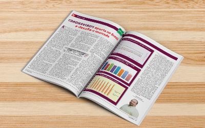 Revista AG: CORONAVÍRUS aporta no Brasil e desafia o mercado