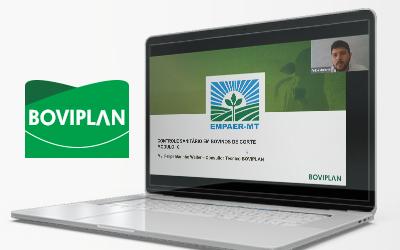 Boviplan capacita técnicos da EMPAER-MT em evento online sobre pecuária de corte