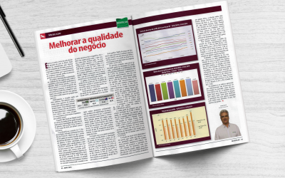 Revista AG: Melhorar a qualidade do negócio