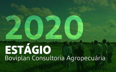 Inscrições encerradas para estágio na Boviplan em 2020